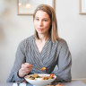 Dr Kate Gregorevic give herself around 12 hours off eating a day as a gentle form of time-restricted eating.