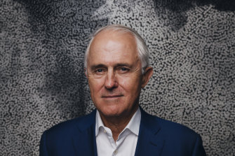 Former prime minister Malcolm Turnbull says climate change was his unfinished business as leader.