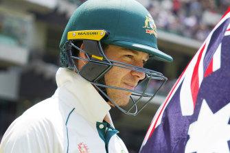 Australian captain Tim Paine.