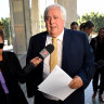 Clive Palmer in court to face trial over Queensland Nickel collapse