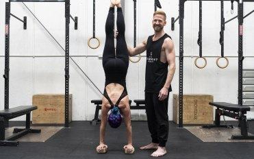Want a stronger core and shoulders? Get upside down