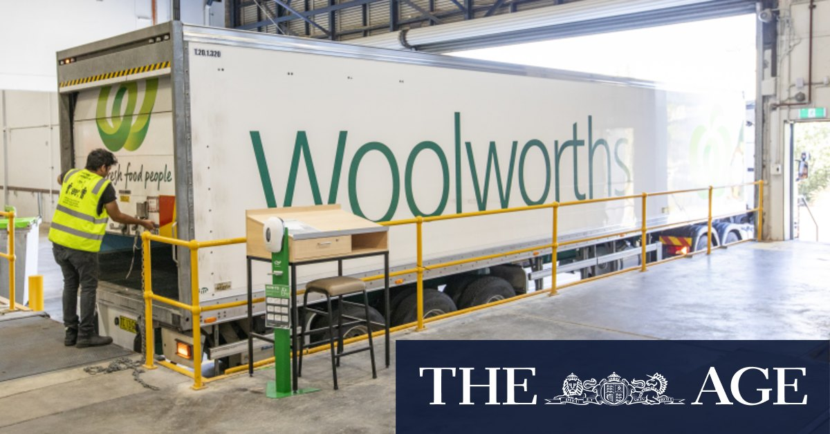 Woolworths announces warehouse job losses, Metro store write-downs