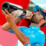 Valverde sprints to Vuelta stage victory as Aussies falter