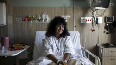 Senator Malarndirri McCarthy was admitted to hospital last week with a kidney infection.