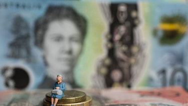 Market volatility could expose superannuation savings to losses.