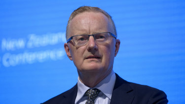 RBA governor Philip Lowe, in a speech on Monday, urged Australian consumers and businesses to take more risks.