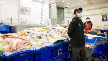 Sydney Fish markets will be operating over the Easter weekend but with increased health measures.