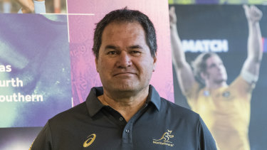 Dave Rennie has put the heat on New Zealand Rugby.