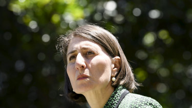 NSW Premier Gladys Berejiklian is not happy with the Queensland government.