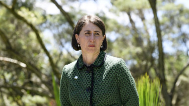 """Premier Gladys Berejiklian has maintained the Office of Local of Government was responsible for """"making sure the dollars got to those councils""""."""