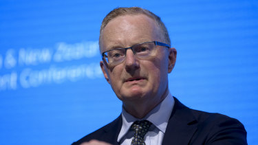 "RBA governor Philip Lowe: ""I encourage everybody to go to their bank and ask for a better deal."""