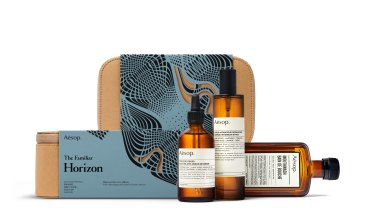"Aesop ""The Familiar Horizon"" gift kit."