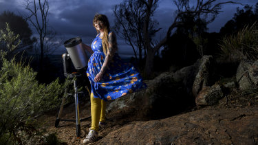 Karlie Noon has been appointed the Sydney Observatory's first astronomy ambassador.