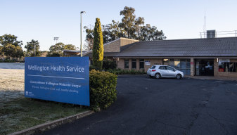 Wellington Hospital, in central western NSW.