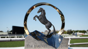 The Everest trophy.