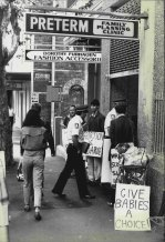 The Preterm Clinic at Cooper Street, Surrey Hills on April 11, 1984. The picture shows members of Action In Defence of Life group protesting.