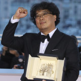 Bong Joon-ho, this year's winner of the Cannes Film Festival's coveted Palme d'Or.