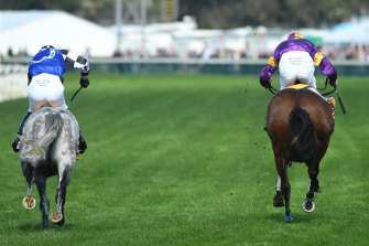 Fully-vaccinated punters were allowed to return to Warrnambool Racing Club today.