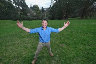 Landscape designer Phillip Johnson has big plans for an old golf course.