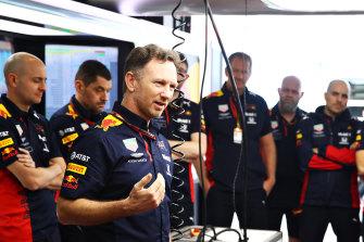 Red Bull Racing F1 team principal Christian Horner.