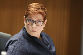 Foreign Minister Marise Payne will be able to terminate deals between states and foreign governments.