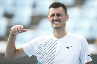 Lucky loser: Bernard Tomic will play in the Delray Beach Open.