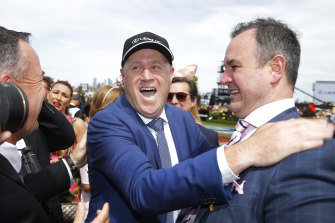 Melbourne Cup-winning trainer Danny O'Brien.
