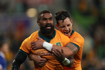 Marika Koroibete is a confirmed starter after his red card against France was annulled.