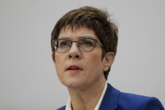 Christian Democratic Union party chairwoman Annegret Kramp-Karrenbauer will not run for chancellor.