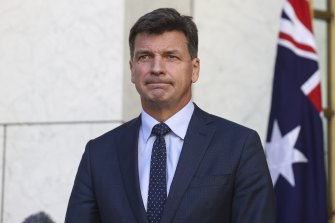 Energy Minister Angus Taylor plans to use his visit to the United Nations climate summit in Glasgow next month to talk to counterparts from other countries about investing in Australian hydrogen exports.