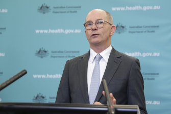 Deputy Chief Medical Officer Professor Paul Kelly said on Monday that he believed a recovery tally was important.