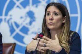 Dr Maria van Kerkhove of the WHO.