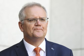 Prime Minister Scott Morrison has continued to question mass vaccination clinics.