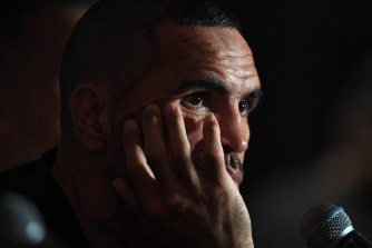Former rugby league star Anthony Mundine had high hopes for the late Ziggie Vincent.