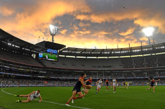 The MCG and other stadiums will return to 85 per cent capacity next week.