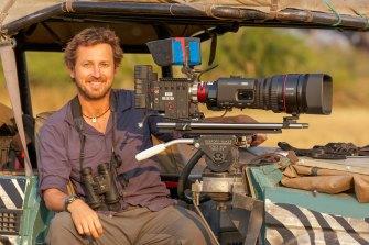 Hunter hopes to build Australia's footprint in the wildlife film industry.