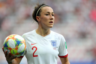England defender Lucy Bronze was named UEFA's women's player of the year.