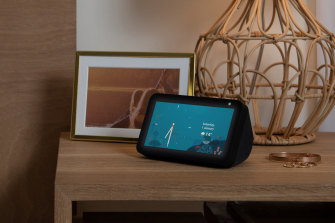 The Echo Show 5 is Amazon's smallest and least expensive smart display. Show also comes in 8- and 10-inch sizes.