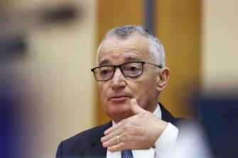 Australia Post chair Lucio Di Bartolomeo insists Christine Holgate agreed to step aside.