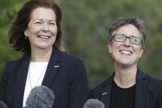 ACTU president Michele O'Neil and secretary Sally McManus have been targeted by Setka