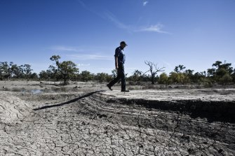 NSW Deputy Premier John Barilarois at odds with the Morrison government over water sharing in the Murray Darling Basin.