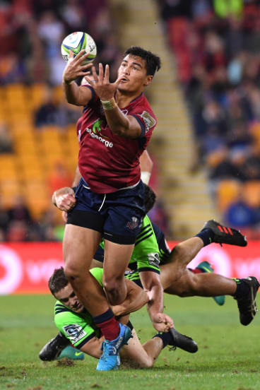 Bolter: Reds teen Jordan Petaia has been named in the Wallabies squad.