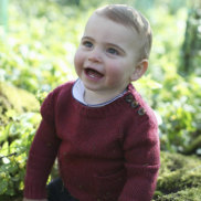 Royal family releases new photos for Prince Louis' first birthday