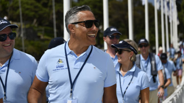 Latitude Financial Services CEO Ahmed Fahour at the KPMG Couta Boat Race 2019.