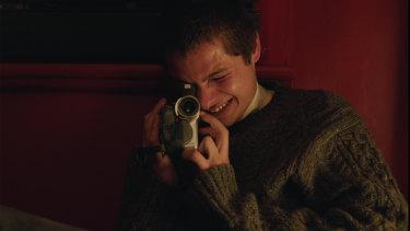Toby Wallace plays journalist Erik Jensen in Acute Misfortune.