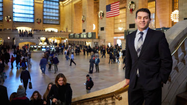 Denis Hickey, Lendlease Americas CEO, in New York's Grand Central Station, which the developer restored in 1999.