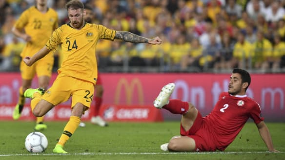 Boyle steals the spotlight in Cahill's Socceroos farewell