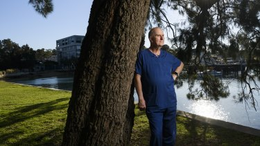 63 year-old retired Nurse Bruce Dowd has returned to the COVID-19 frontline.