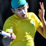 Australia take stranglehold on Davis Cup tie