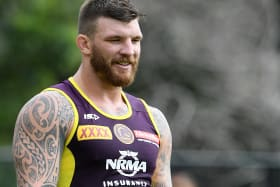 Bronco Josh McGuire charged for touching referee